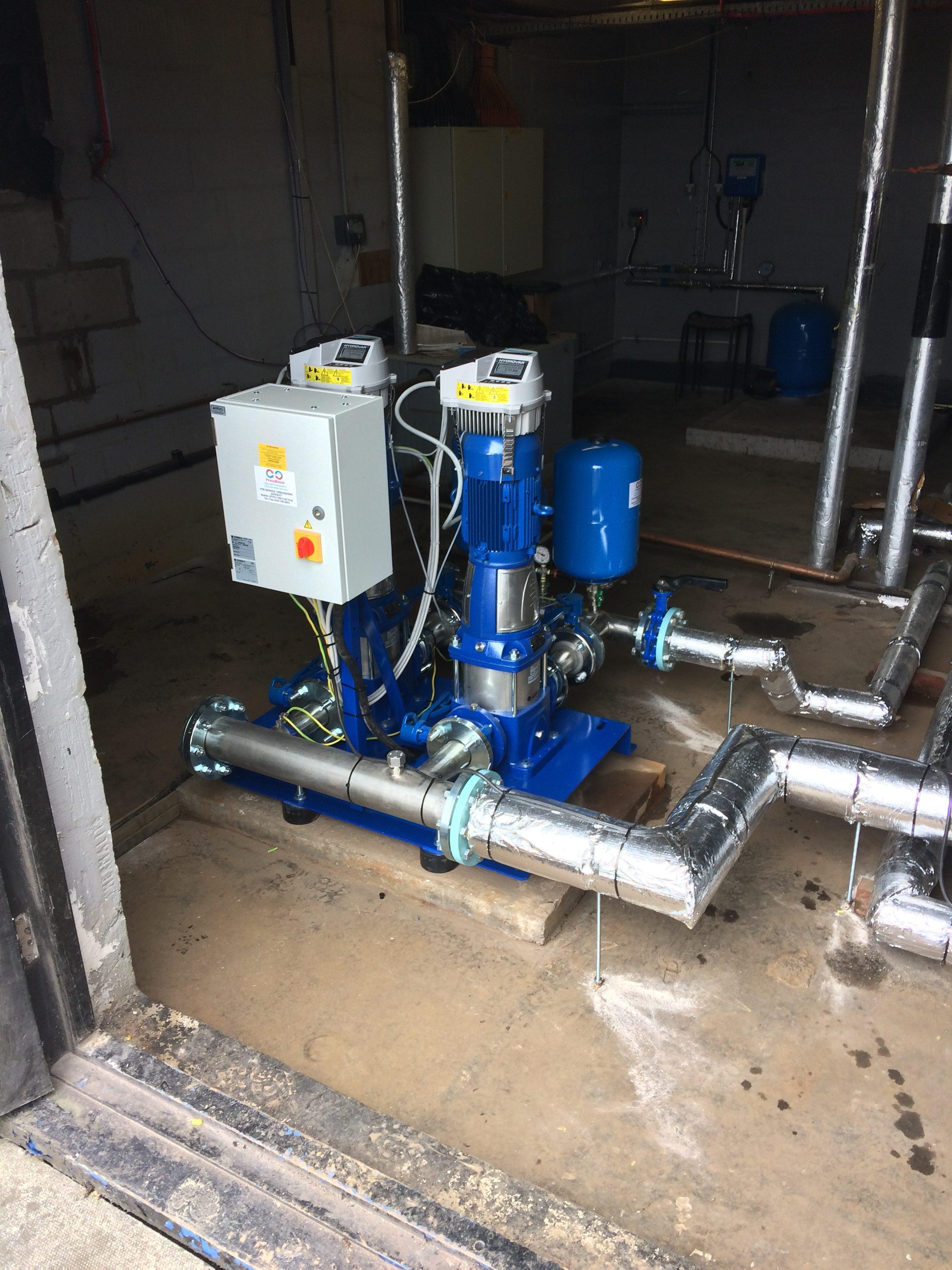 Cold Water Booster Pump Sets Pressboost Ltd Specialist