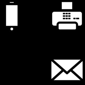 Communication symbols image