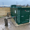 Combination GRP Enclosure and 3-Pump Booster Set Installation